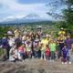 GW親子熱気球と田植え筍キャンプ
