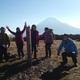 アラフジ:1月ダイヤモンド富士トレッキング