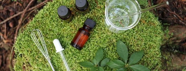 手作りアロマ研究室 ~富士山麓の植物で芳香蒸留水を作ろう~