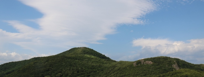 フォト&トレック~額取山編~ 稜線歩きと360度の大展望