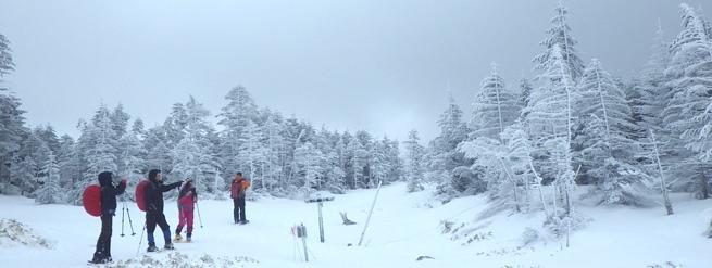 雪の八ヶ岳登山~天狗岳編~ アラウンド富士山12ヶ月