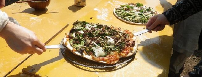 おいしい里山物語6月 初夏野菜の収穫&手づくりピザ
