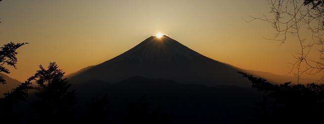 七面山ダイヤモンド富士トレッキング アラフジ ~信仰の富士見旅~