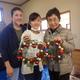 クリスマスリース作りを岡地区で実施しました!
