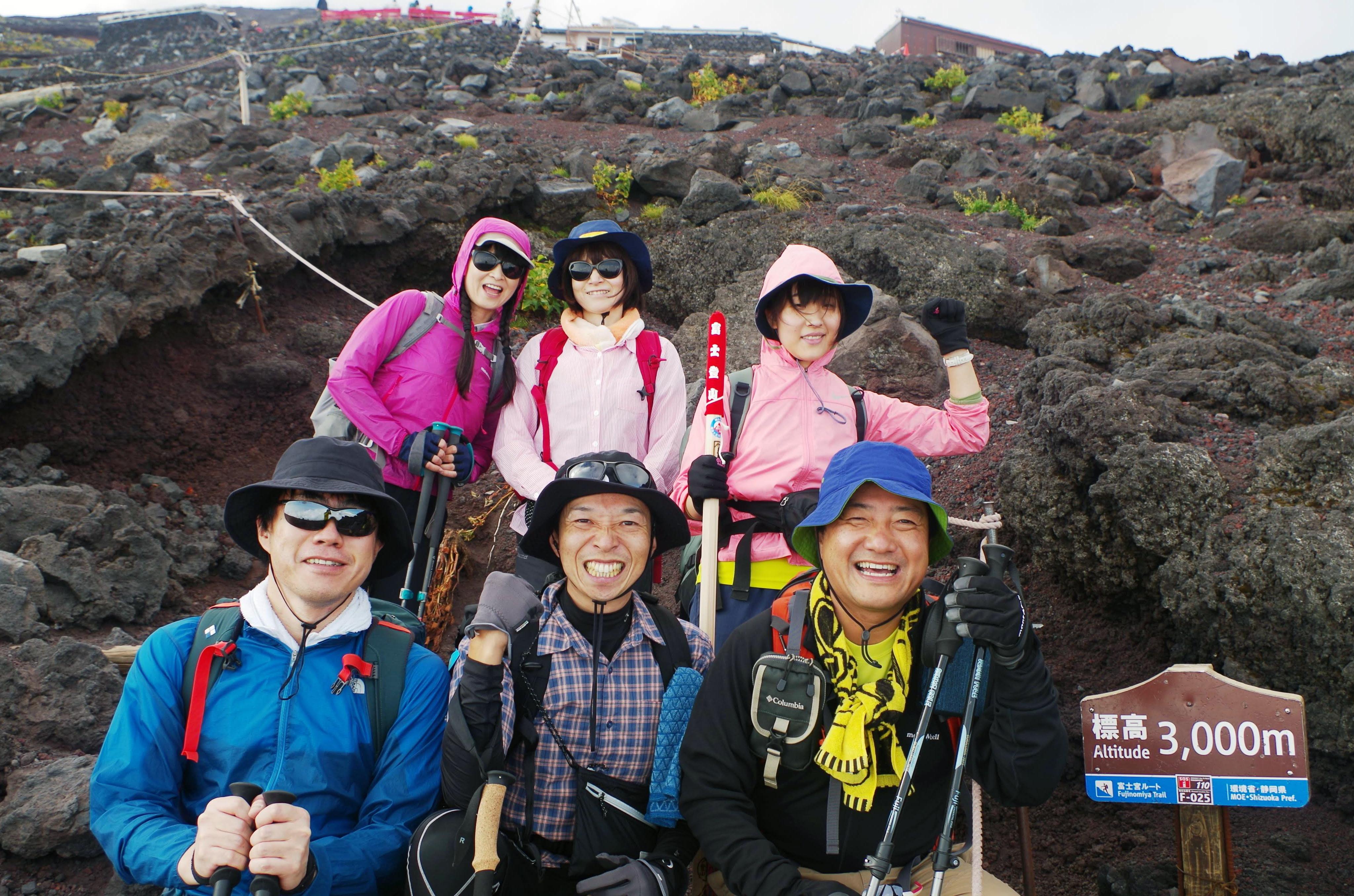 完全少人数制 今年こそ 富士登山