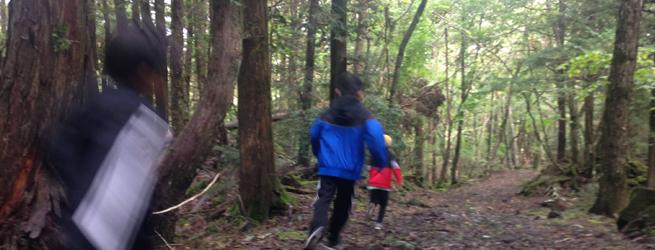 親子*ラン・トリップ 親子でトレイルラン@富士山麓