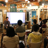 新潟トークベース~物語りと対話の時間の様子